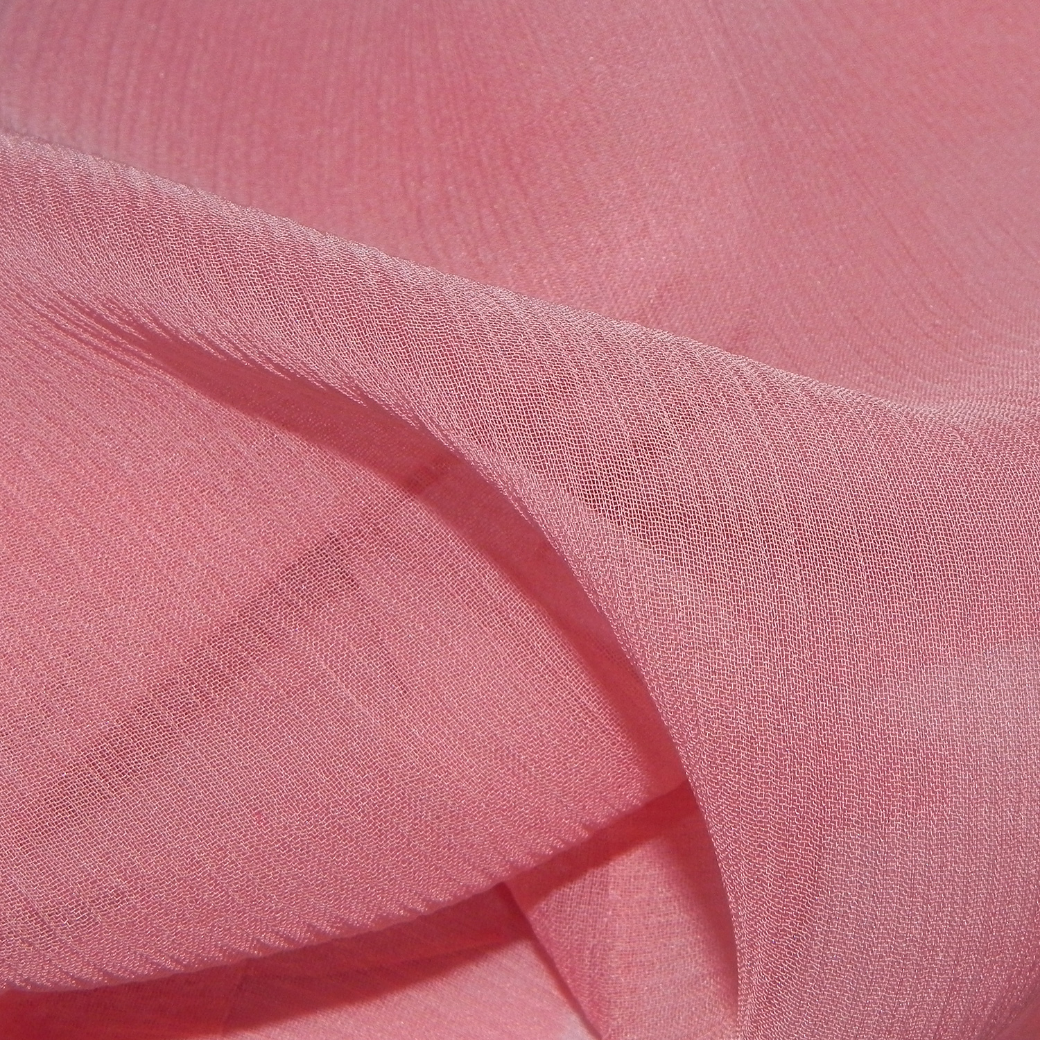 Crinkle Silk Chiffon Fabric Silk Apparel Fabric Crinkle