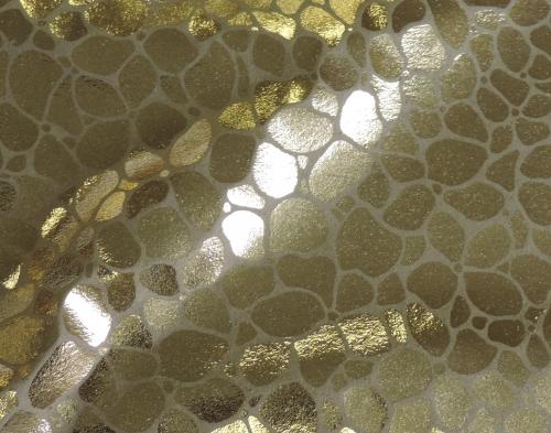 DH6403 Metallic Foil on Noil Poplin - DH6403-301
