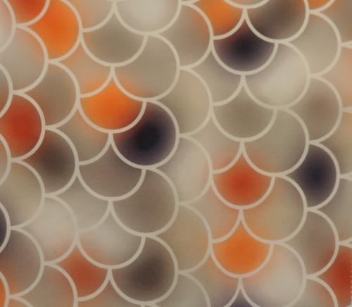 DH6408 Graded Fishscale Digital Print - DH6408-97