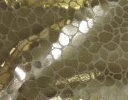 DH6403 Metallic Foil on Noil Poplin