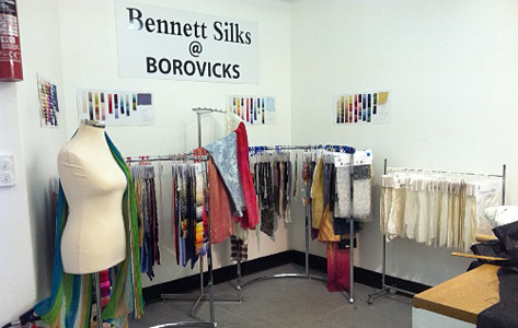 BOROVICK FABRICS, LONDON RETAIL OUTLET