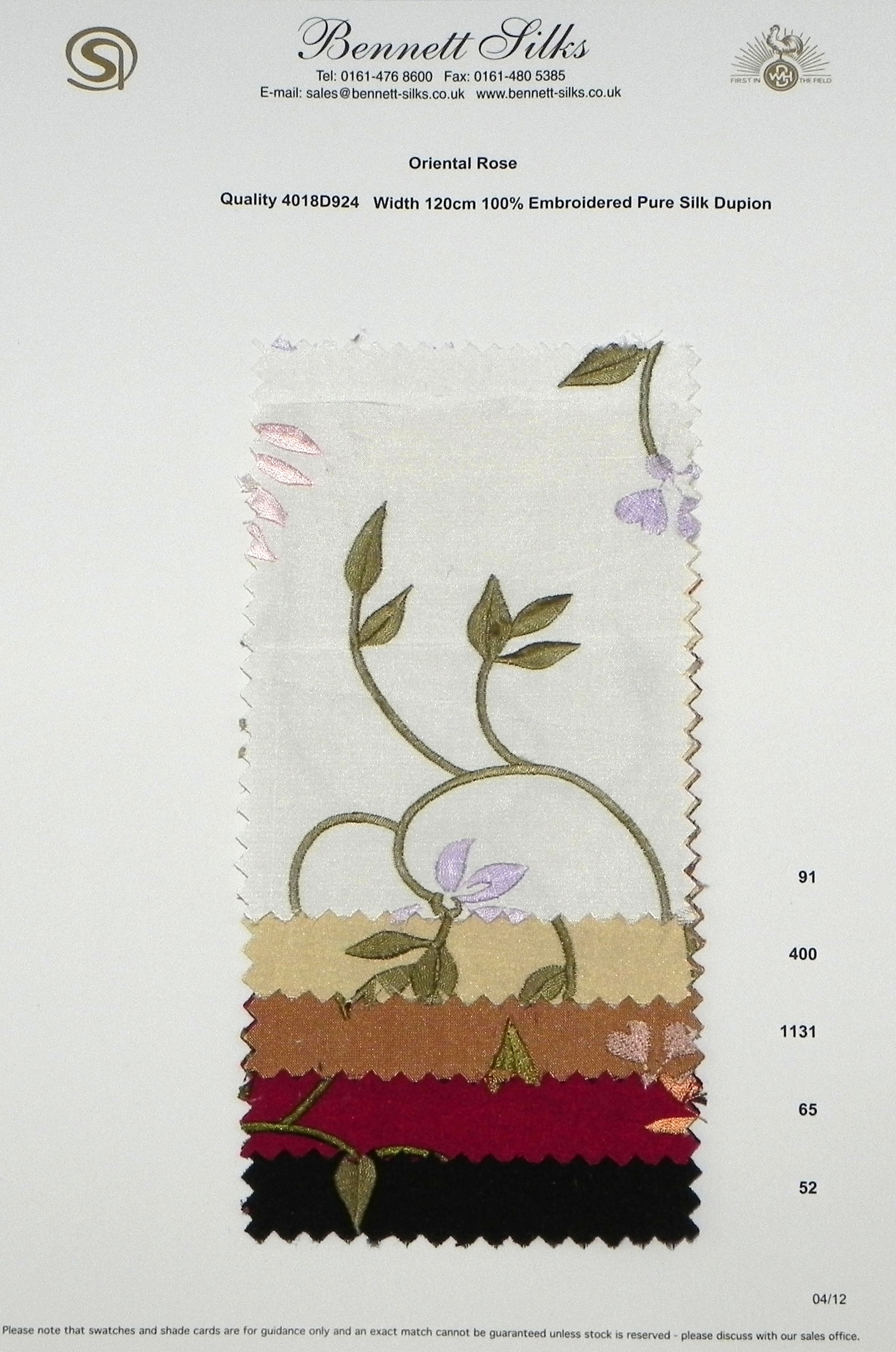4018D924 Oriental Rose -